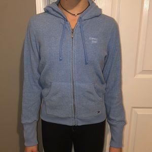 Tommy Jeans blue zip up- size M